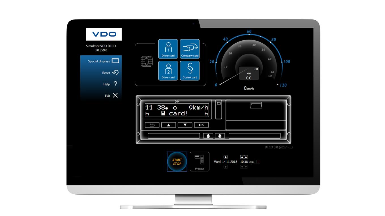 DTCO Simulator online 1st lic.