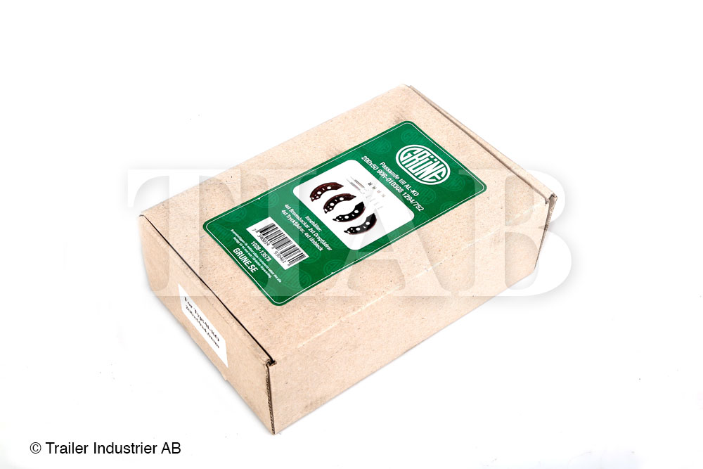 Bromsback sats 4 st Grüne200x5