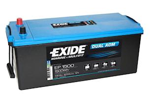 Batteri Dual AGM 180Ah