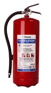 12 kg brandsläckare (PG12UF)