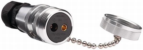 Stickdosa 2-polig skruv m lock