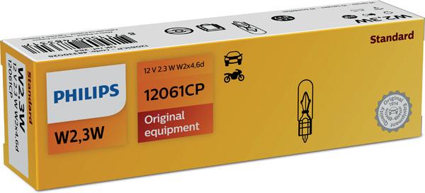 Glödlampa 12V 2,3W W2x4,6d