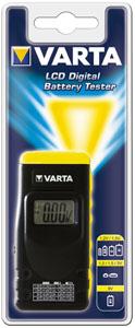 Batteritestare f småbatterier
